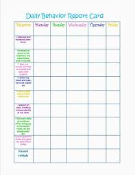 Behavior Charts Printable For Kids Home Behavior Charts