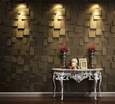 gallant interior room decoration and brown walls panels ideas with lighting room for simply wooden table