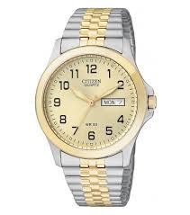citizen mens silver bf0574 92p watch watchco com citizen quartz bf0574 92p silver mens