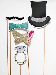 1920s inspired photo booth props