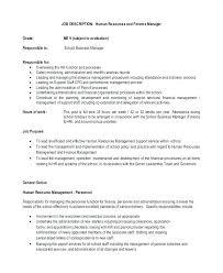 15 Payroll Administrator Job Description Resume Cover