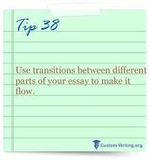best college essay writing tips and life hacks images on   college essay writing tip motivation use transitions between different parts of your