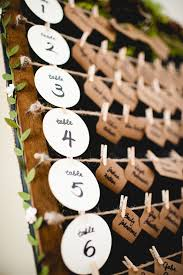wedding reception ideas beautiful escort cards and seating charts Wedding Escort Cards And Table Numbers rustic wedding escort card display with kraft paper and moss www rusticevents com DIY Wedding Table Cards