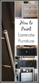 Paint For Laminate Cabinets 25 Best Ideas About Painting Laminate Cabinets On Pinterest
