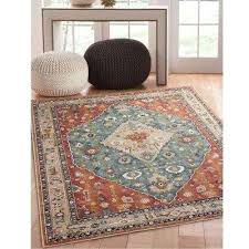 7 x 11 area rugs jewels aqua 7 ft in x ft 2 in 7 x 7 x 11 area rugs