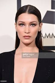 bella hadid 2016 grammys red carpet makeup tutorial