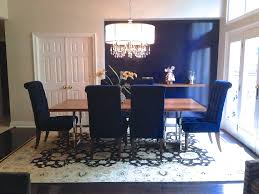 blue dining room area rugs drum chandelier with table and royal chairs also rug best for