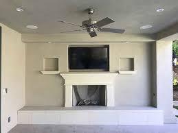 california fireplace custom raised hearth