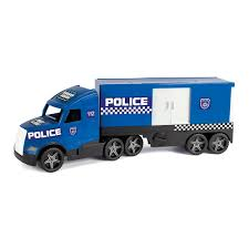 Машинка <b>Wader</b> Magic truck <b>Полиция</b> фары светятся (36200 ...