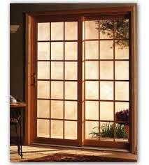 custom wood sliding glass doors design inspiration