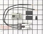 ge range stove oven model jsp69wvww parts fast shipping element receptacle and wire kit part 245916 mfg part wb17x5088