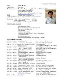 HSE Officer CV     Entracing Process Safety Engineer Sample Resume Opulent