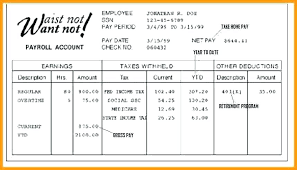 Online Pay Stub Generator Pay Stub Template Generator With Overtime 5 Excel Paystub Maker Free