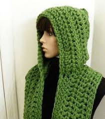 Free Hooded Scarf Crochet Pattern