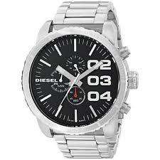 diesel watches luxury watches designers diesel men s dz4209 double down chronograph stainless steel watch