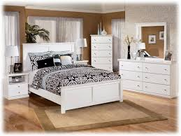 Bedroom Distressed White Bed Frame Rustic White Bedroom
