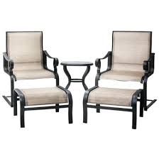Agio Patio Furniture Sling Replacement Hideaway Sling 5 Pc Seating