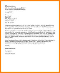 Accounting Cover Letter Musiccityspiritsandcocktail Com