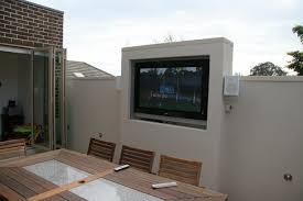 Diy Tv Cabinet Elegant Outdoor Lcd Enclosure Designs