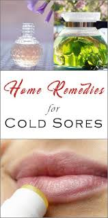 cold sores with these diy healing methods