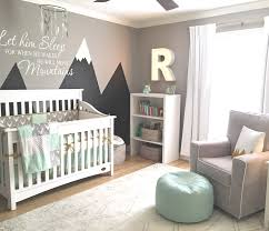 Mint and Gray Mountain Themed Nursery | 5 Trendy and Unique Nursery Themes  for 2017 |