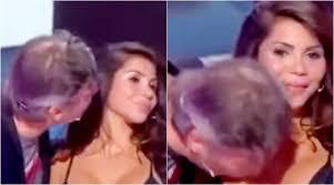 Man kissing woman's breast video
