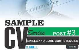 list of core competencies for resumes skills and core competencies resume examples