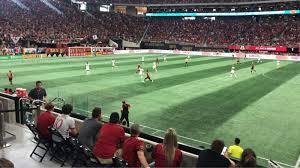 Mercedes Benz Stadium Section 128 Row 5 Seat 8 Atlanta