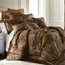 sherry kline china art bed in a bag brownbrown duvet cover set dark brown queen