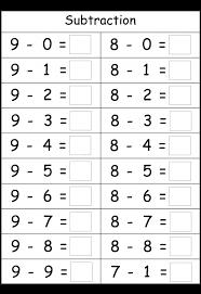 Printable Math Worksheets For Kindergarten : Criabooks