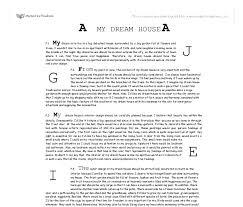 dream house essay ideas my dream house gcse english marked by teachers com