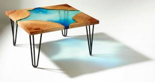 how to make an resin wood table