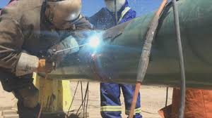 Welding Pipeline Pipeline Welding Mainline Weld 16 Inch Pipe