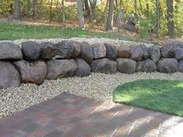 patio retaining wall retaining wall ideas rock retaining