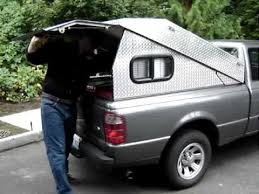 Tonneau cover to pickup canopy in 19 seconds...! - YouTube