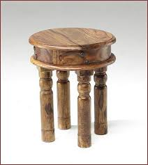 best small round wood coffee table you
