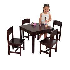 table 4 chairs set farmhouse table and 4 chairs set multiple colors varazze oval glass dining