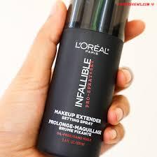 l oreal paris infallible makeup extender setting spray l oreal paris infallible makeup extender setting spray little