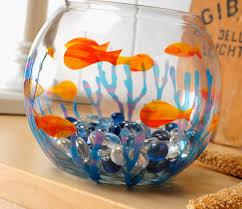 diy glass paint fish bowl