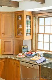 17 Best Images About Kitchen Ideas On Pinterest Red Oak Corner Cabinets And  Cabinets