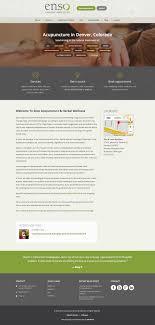 Acupuncture Web Design Acupuncture Practice Website Big Walnut Design
