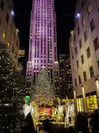 visiting new york city at christmas