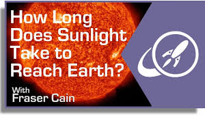 Light To Earth From Sun Speed How Long Does It Take Sunlight To Reach The Earth