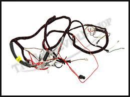 triumph 500 650 t120 tr6 t100 genuine lucas wiring harness 1968 pn best price on this genuine lucas wiring harness to fit 1968 triumph t120 bonneville tr6r tiger tr6c trophy t100r daytona and t100c trophy models