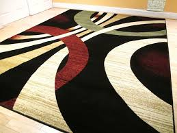 area rug awesome modern 8 11 rug black contemporary area rugs 5 8