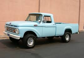 1964 baby blue Ford truck | Somethin Bout A Truck | Ford pickup ...