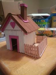 popsicle stick house plans free fresh 56 best craft stick houses images on