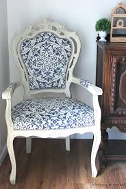 classic diy repurposed furniture pictures 2015 diy. DIY Reupholstered Chair Makeover With Chalk Paint And Clearance Curtain As Fabric - Girl In The Classic Diy Repurposed Furniture Pictures 2015 L