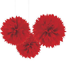 Puff Ball Decorations Nz Impressive Tissue Pom Poms Party Decorations Honeycomb Chandelier Just