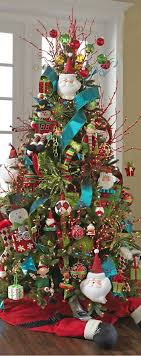 Decorate Your Christmas Tree With Special Themes. Colorful Christmas  TreeDecorated ...